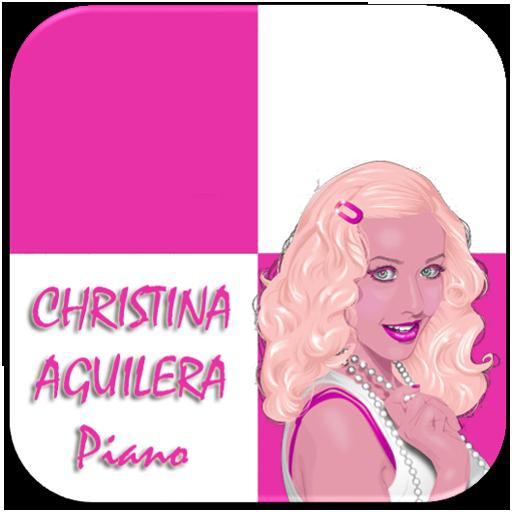 Christina Aguilera Piano Tiles 音樂 App LOGO-APP開箱王