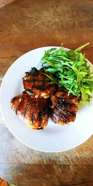 My Best Barbecued Chicken