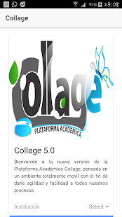 Plataforma Académica Collage- screenshot thumbnail