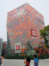 Photo: Very nice building near the Apple Store, Beijing.  Beautiful in color, proportion and shape.  I like this one.