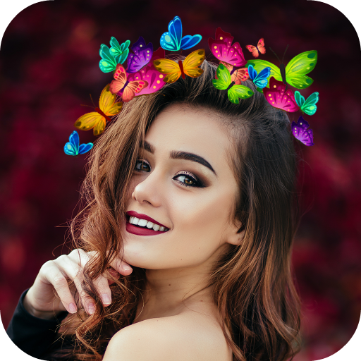 Butterfly Crown Icon