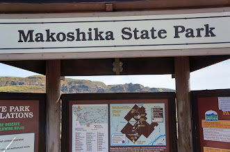 Photo: The name Makoshika (Ma-ko'-shi-ka) is a variant spelling of a Lakota phrase meaning 'bad land' or 'bad earth'. This park is the largest of Montana's state parks at more than 11,000 acres. It is located east of Glendive.