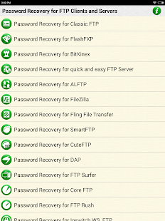 FTP Password Recovery Help - náhled