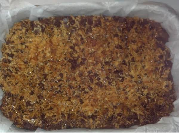 Chocolate Coconut Caramel Compost Cake
