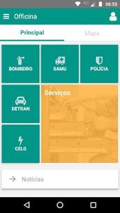 Officina App - náhled