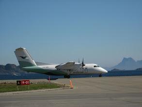 Photo: L'avion à hélices qui nous a amenés de Bodø à Svolvaer