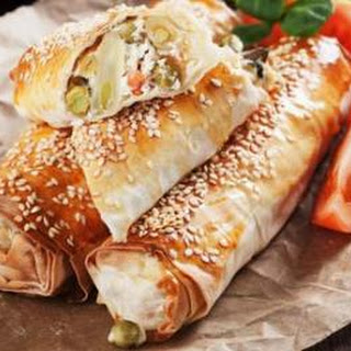 Greek Spinach Cheese Rolls Recipes