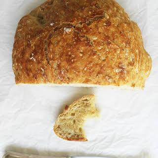 No-Knead Oatmeal Bread.