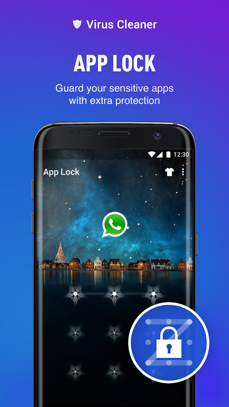 Virus Cleaner - TOP Antivirus, Booster & App Lock Screenshot 3