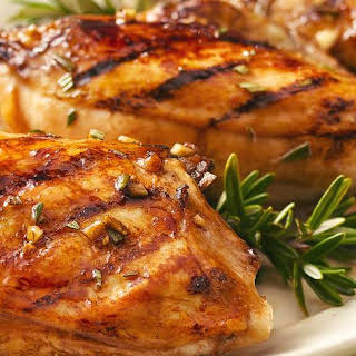 Balsamic-Glazed Grilled Chicken Breasts.