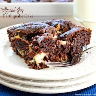 Almond Joy Earthquake Cake.