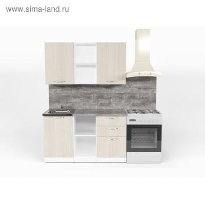 Кухонный гарнитур Лариса медиум 4 1400 мм