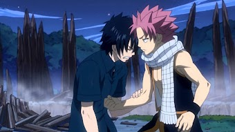 Fairy Tail - Natsu vs. Yuka the Wave User