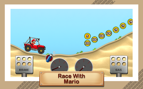 Hill Racing Super Hero Mario - náhled