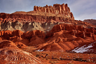 Photo: From Bryce canyon, we took the scenic highway 12 (amazing road), and arrived in Teasdale, close to Capitol Reef. Most places were closed at that time of the year (around Christmas). Be prepared if you go there. Tony Mignot at gimpytripod.blogspot.com
