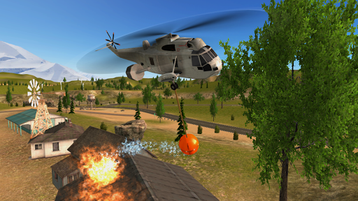 Police Helicopter Flying Simulator for PC