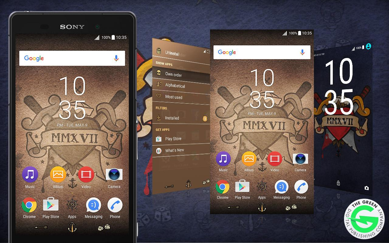 Sailor Jerry for Xperia™: captura de pantalla