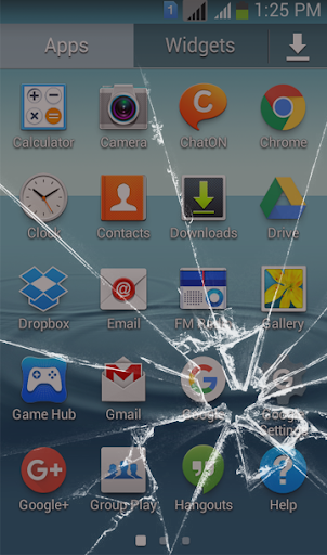 Broken Screen Wallpaper