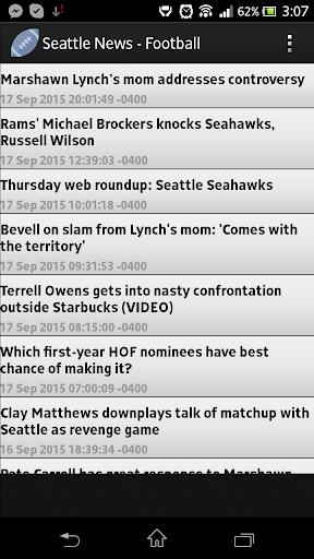 Seattle News - Football
