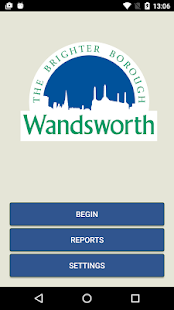 Wandsworth Report It- screenshot thumbnail