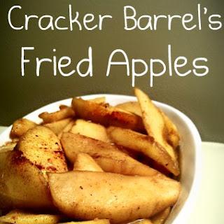 Copy Cat Recipe for Cracker Barrel's Fried Apples.