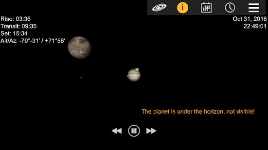 Jupiter Simulator- screenshot thumbnail