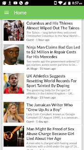 The Jamaican Blogs- screenshot thumbnail