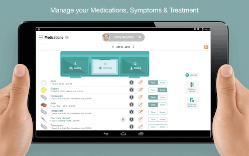 iCancerHealth : Cancer Care- screenshot thumbnail