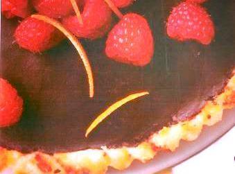 Chocolate Macaroon Tart Recipe