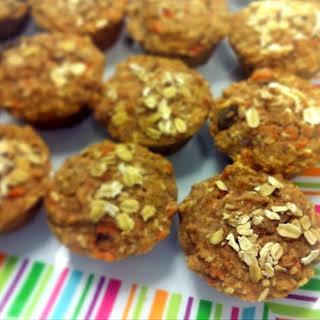 Gluten-free & Dairy-free Morning Glory Muffins.