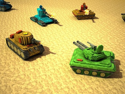 Toon Tank - Craft War Mania- screenshot thumbnail