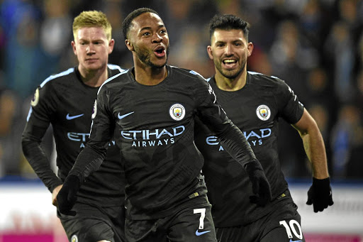 Career high: Manchester City's midfielder Raheem Sterling. Picture: REUTERS
