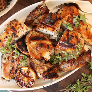 Greek-Style Grilled Chicken With Oregano, Garlic, Lemon, and Olive Oil