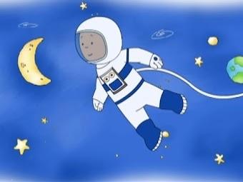 Caillou the Astronaut