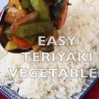 Teriyaki Vegetable Stir Fry.