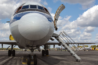 Photo: USA Jet Airlines DC-9, Willow Run Airport (YIP). Credit: Wayne County Airport Authority/Vito Palmisano.