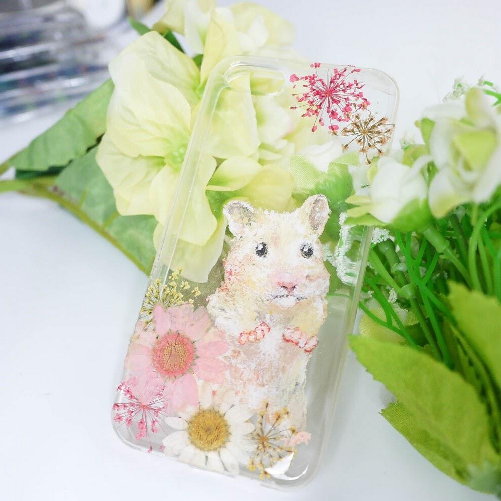 [訂製/custom-made] Hamster Painting Phone Case