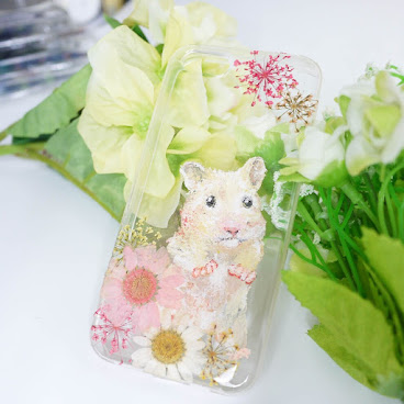 [訂製/custom-made] Hamster Painting Phone Case