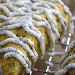 Pumpkin Poppy Seed Scones