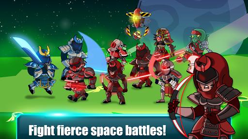 Space Warriors - Sci-fi Strategy Combat Game 1.0 screenshots 3