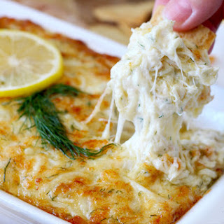 Hot and Cheesy Crab Dip