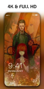 Steins Gate Live Wallpaper Screenshot