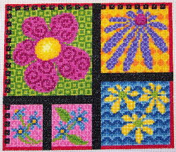 Photo: Completed 20 Oct 2007. I finished this just in time for fall. It's from a back issue of Stitcher's World. I did it on white Aida since it's a full coverage piece. The colors were fun to work with.
