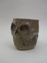 "Photo: Mug 5 * Skull * 3.75"" tall. *  Holds ~ 1 cup"