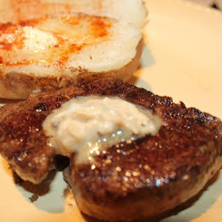 Mustard Butter Steak.