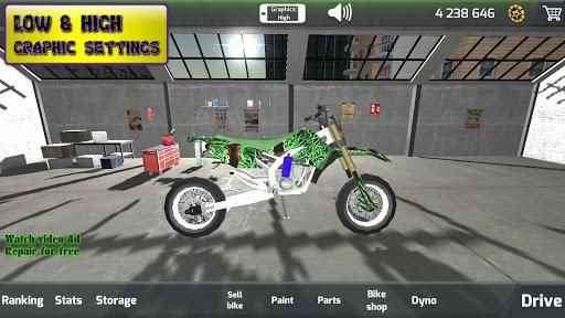 Motorbike real 3D drag racing Wheelie Challenge 3D  screenshots 15