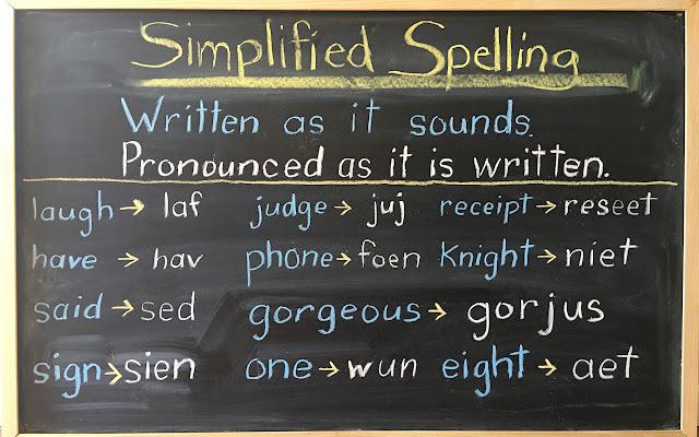 Simplified Spelling