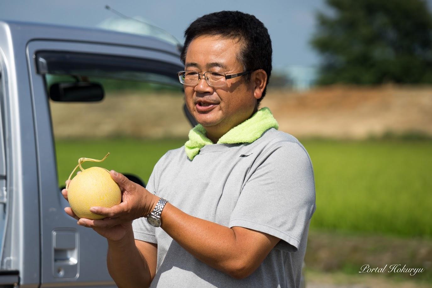 北海道農業指導士の渡邊靖範さん