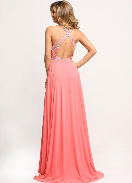 Image showing back view of style #71698