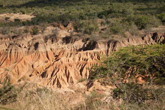Photo: Erosions in Ithala Game Reserve / Eroze půdy v rezervaci Ithala